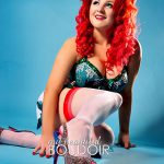 Burlesque & Pin-Up Boudoir Photography